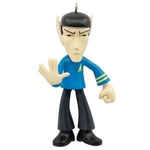 NWT Mr. Spock Star Trek Christmas Ornament
